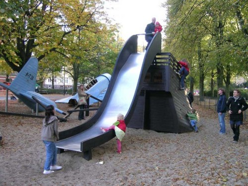 boligcious design legeplads playground monstrum play scapes bermudatrekanten noerrebro